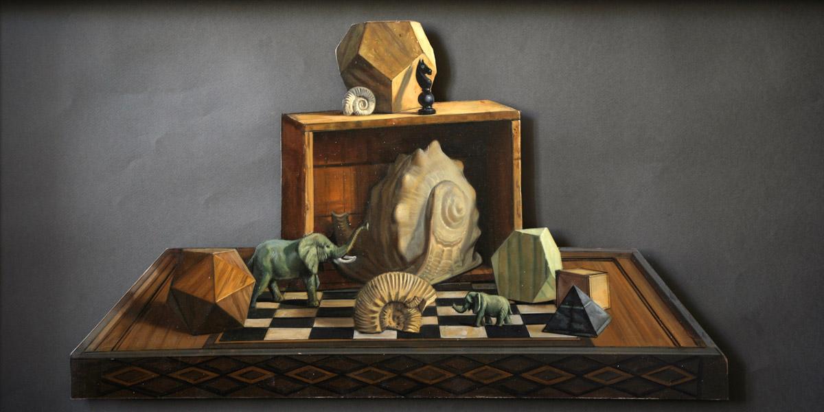 Polyèdres - 60 x 40 cm