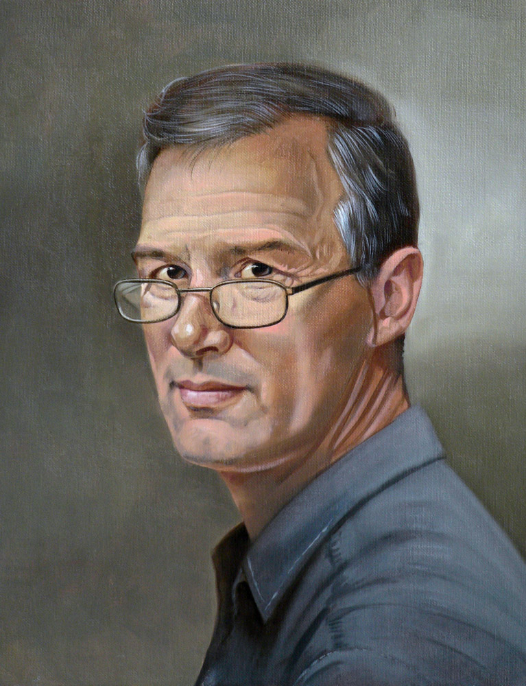 Favori Portrait composé - huile sur toile | Daniel Solnon, peintre en  QG54
