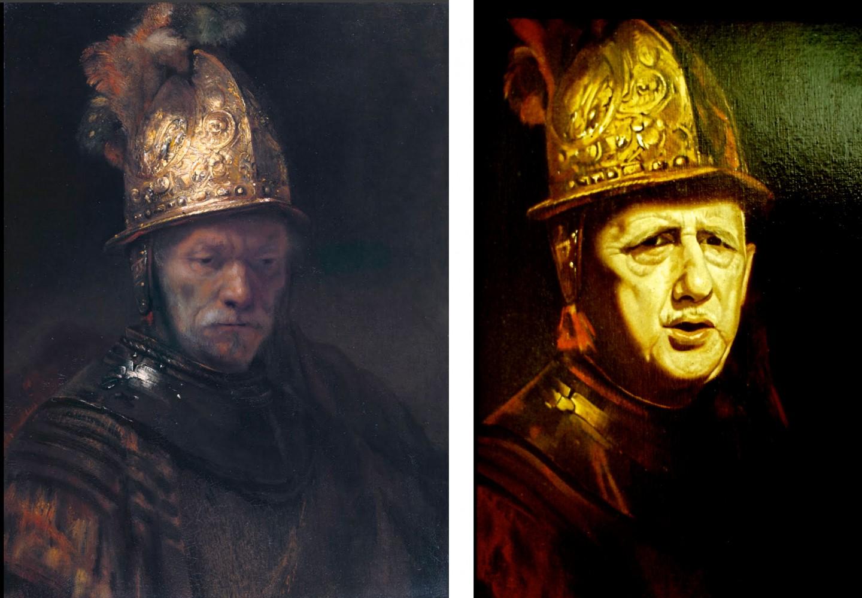 Rembrandt / De Gaulle