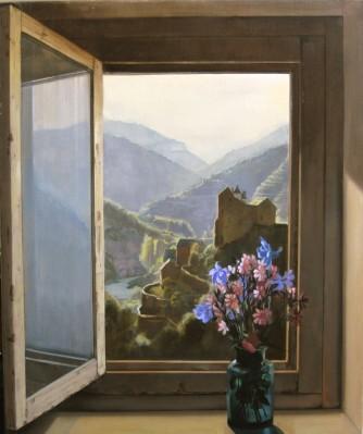 huiles sur toile daniel solnon peintre en trompe l 39 oeil. Black Bedroom Furniture Sets. Home Design Ideas