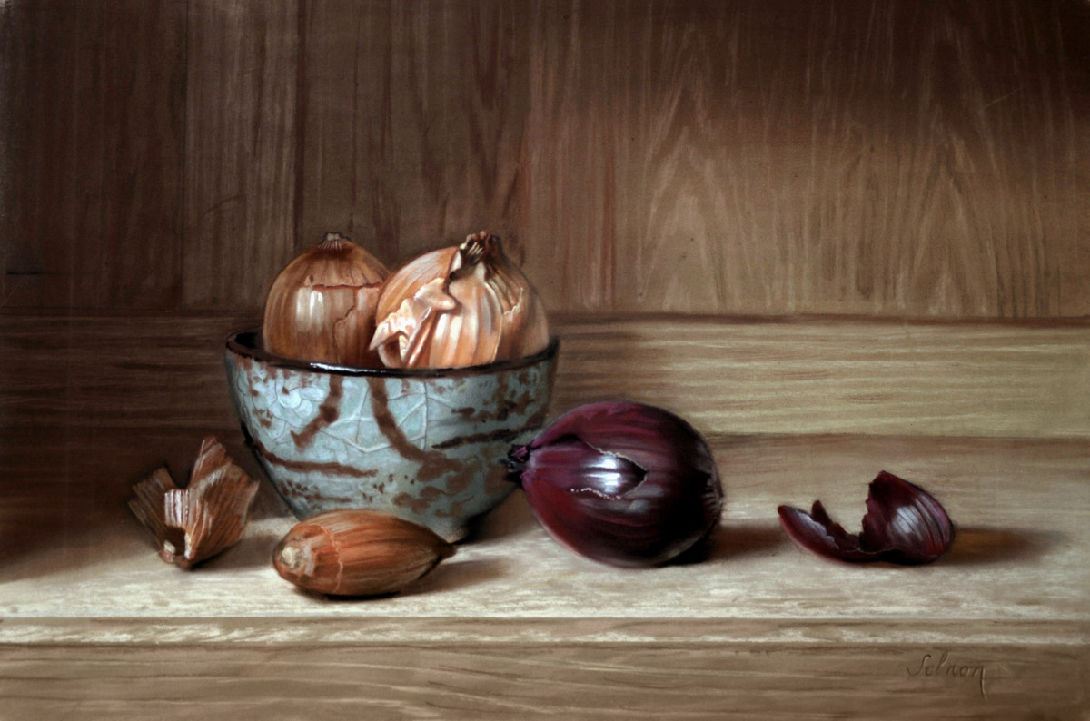 Oignons - 43 x 31 cm