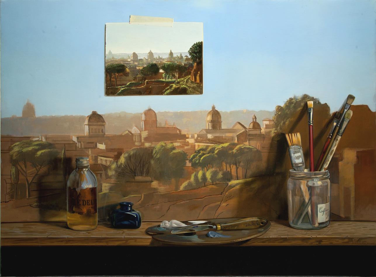 Rome - huile sur toile